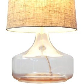 Lightology Simply Textured Table Lamp
