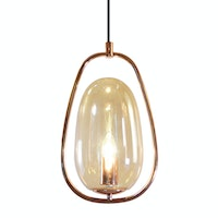 Lightology Copper Latern Pendant Lamp