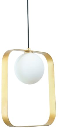 Lightology Square Ball Pendant Lamp