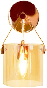 Lightology Rose Gold Deo Wall Lamp