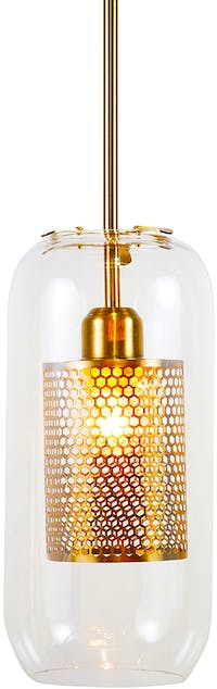 Lightology Gold Nett Pendant Lamp