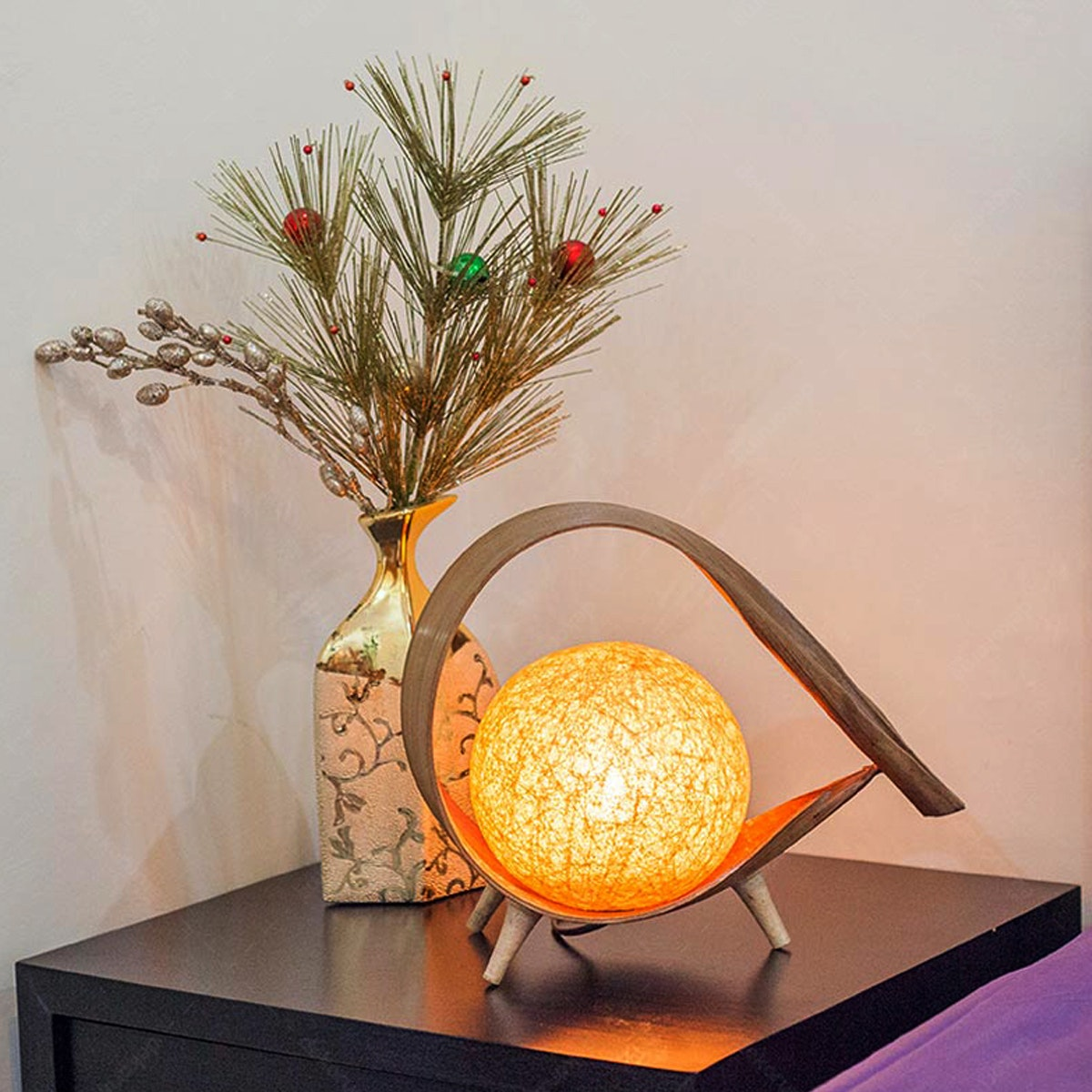 Lily Lamp Art Lampu Meja COCO Q NATURAL
