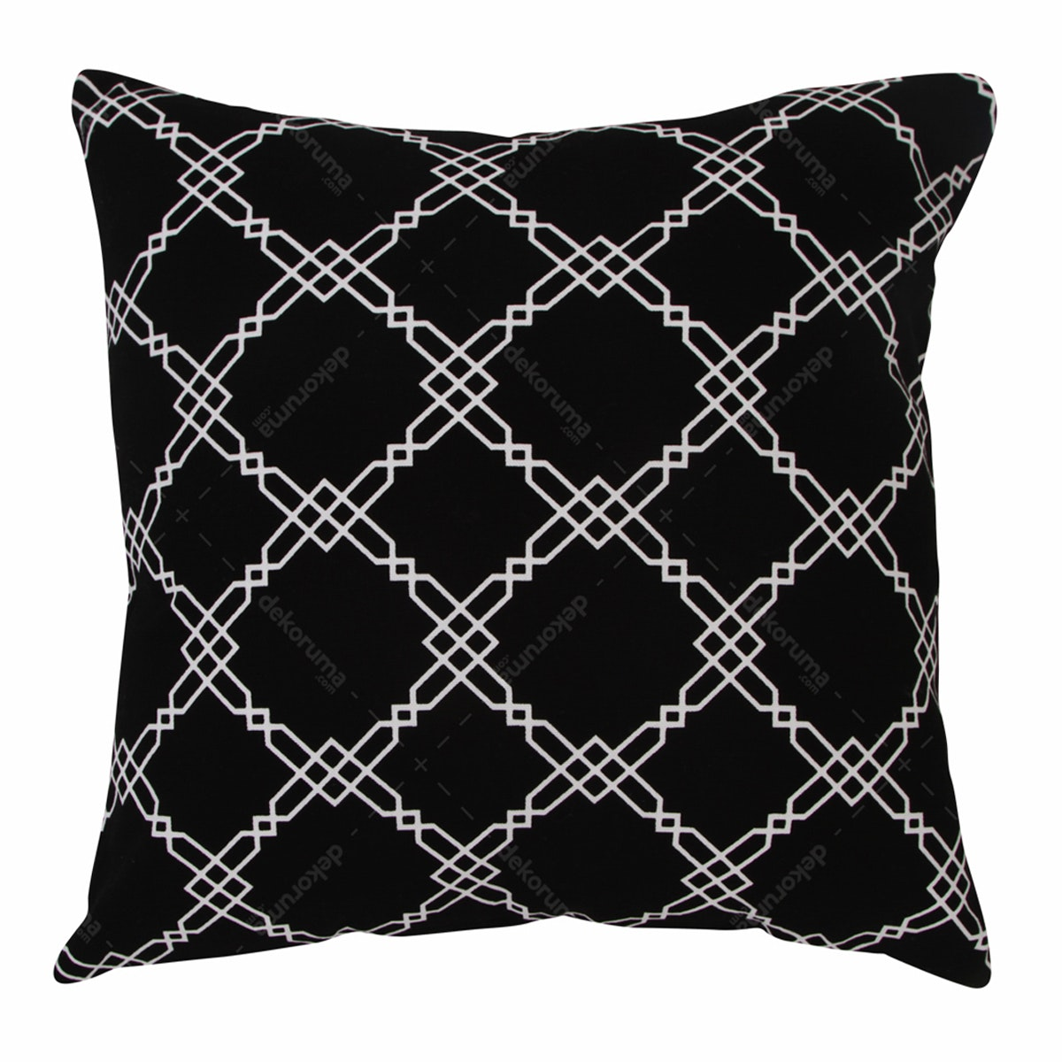 Le Noir Project Gricke Black Cushion Cover 40x40cm