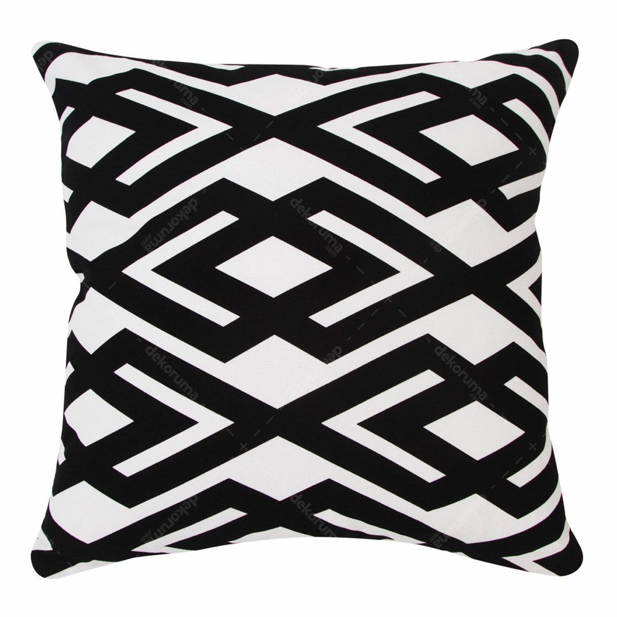 Le Noir Project Hammel Black Cushion Cover 40x40cm