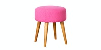 Le Noir Project Stool Spencer Pink Flamingo