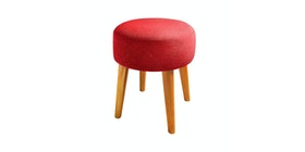 Le Noir Project Stool Spencer Merah Ruby