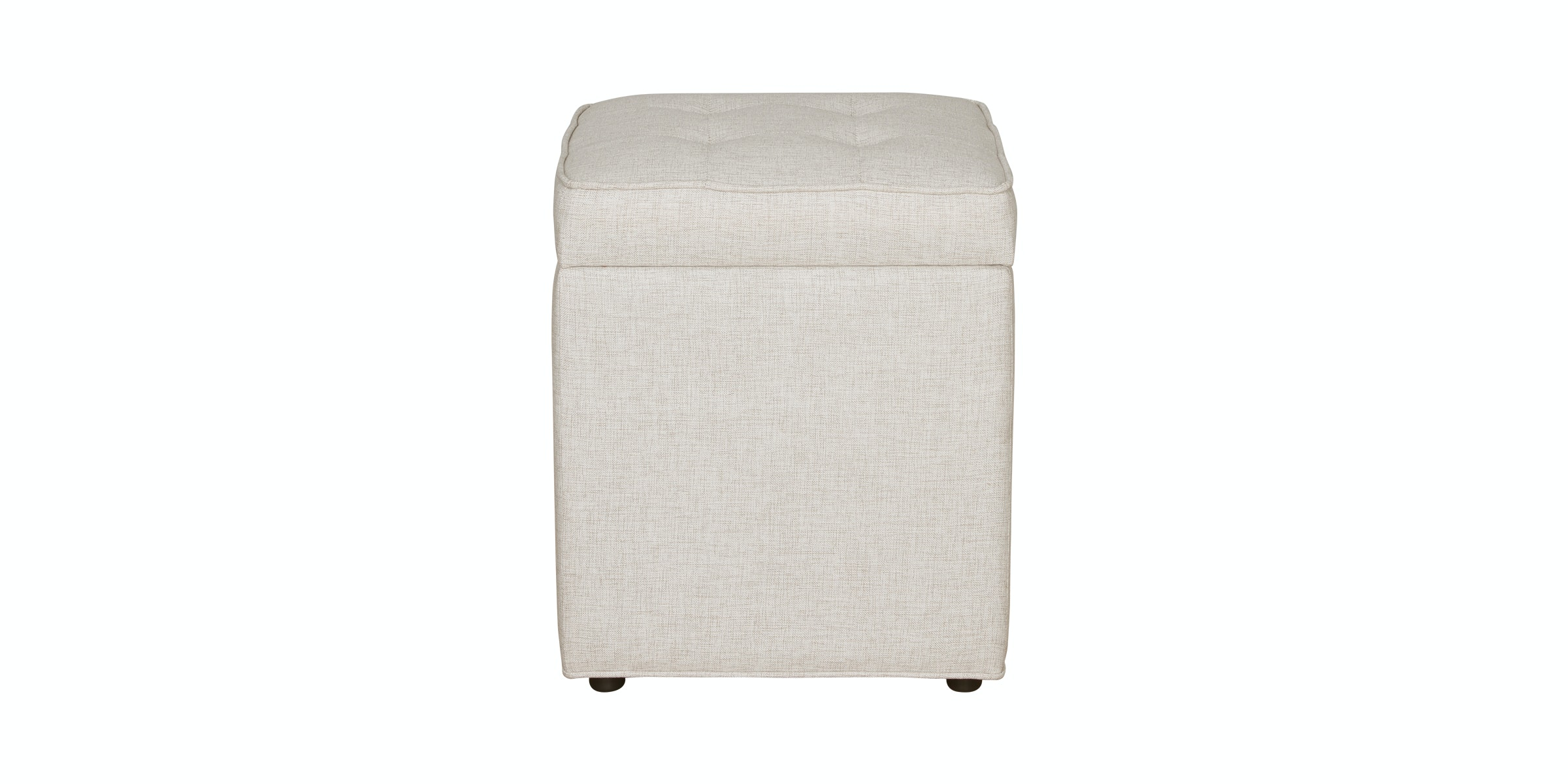 Le Noir Project Jun Storage Ottoman Beige