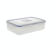 Lock & Lock Rectangular Short 800ml w/Divider (HPL816C)