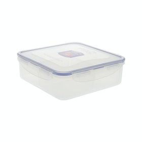Lock & Lock Square Short Food Container 1.6L (HPL858C)