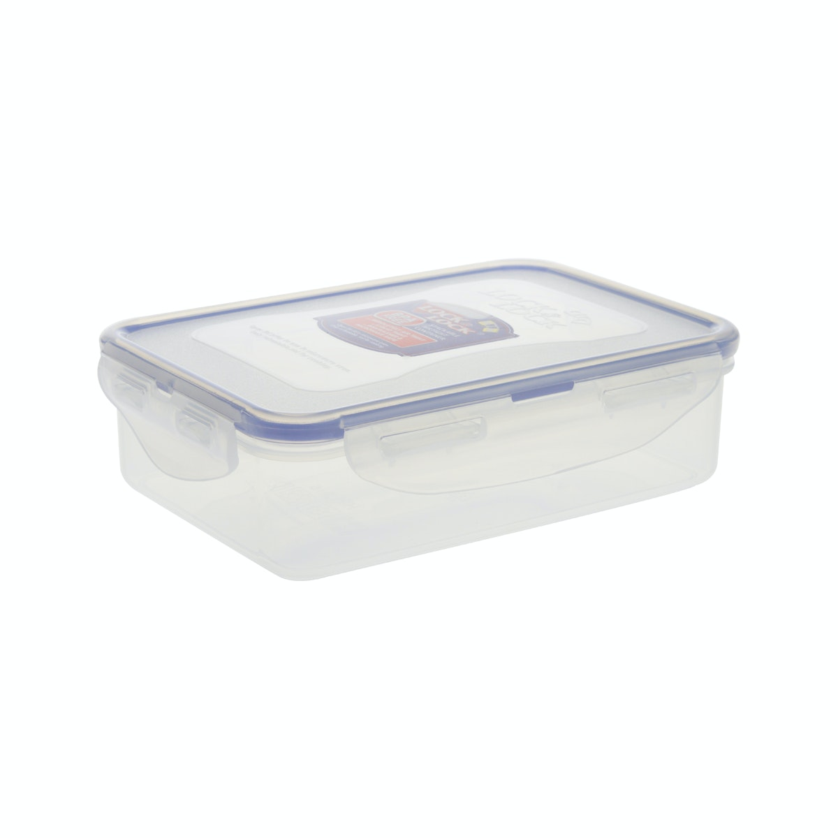 Lock & Lock Rectangular Short Food Container 550ml (HPL815L)