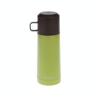 Lock & Lock Kiki Vacuum Bottle 350ml Green (LHC147G)