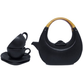 Lumosh Black Eclipse Teaset