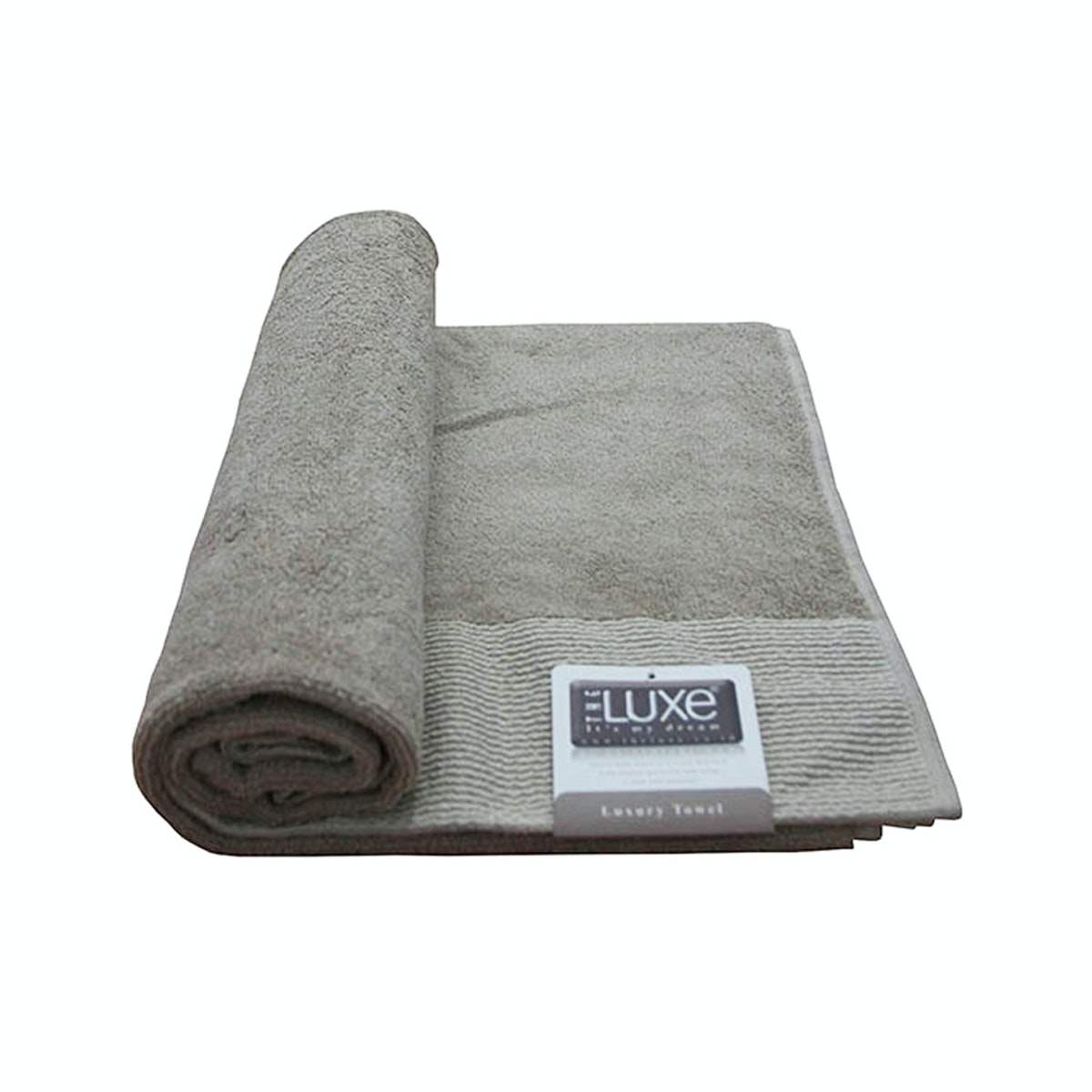 The Luxe Luxury Bath Towel – Beige
