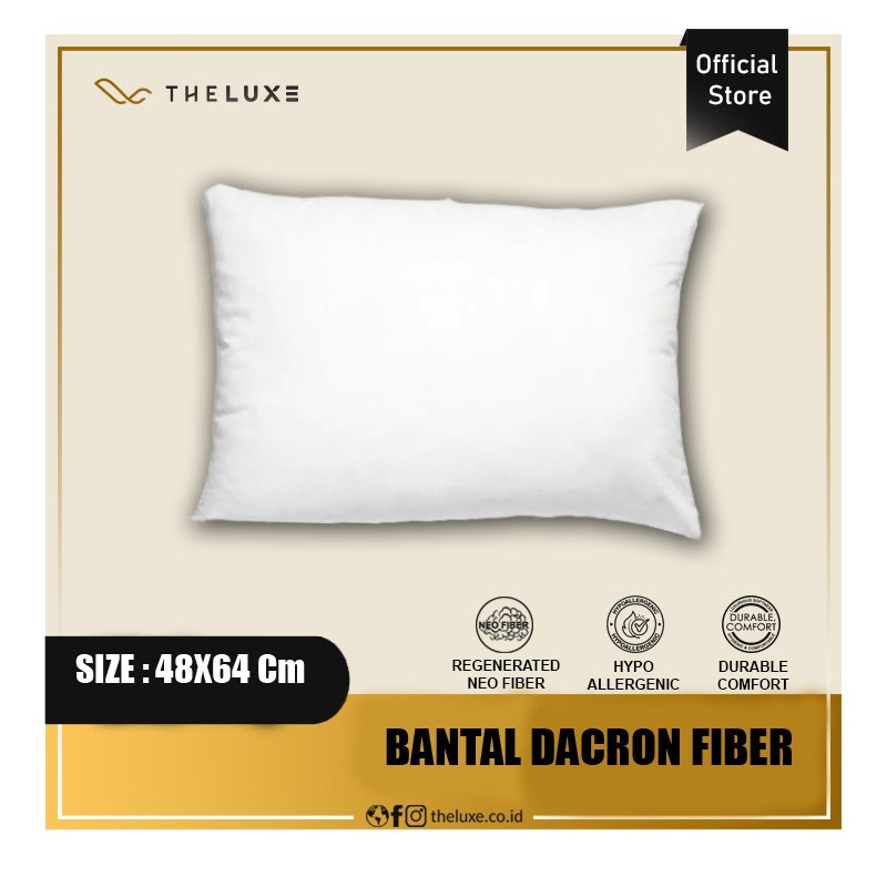 The Luxe Bantal Dacron Fiberfill