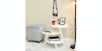 Livien Coffee Table Dokeby Tripod Table White