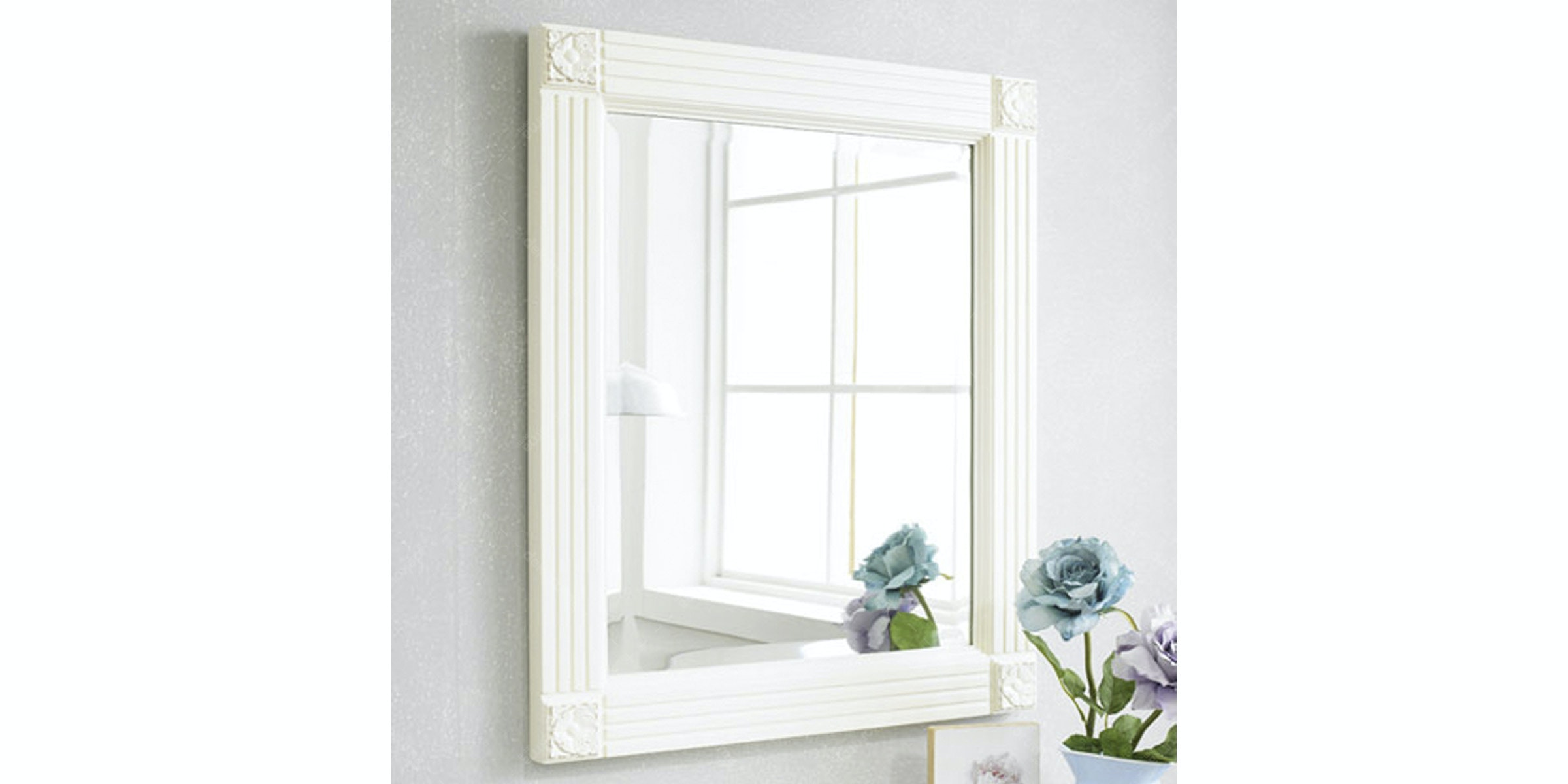Livien Square Mirror French Series