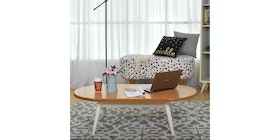 Livien Coffee Table Oval Maple Story