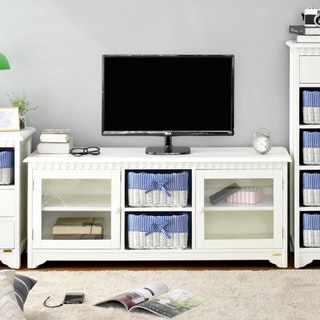 Livien Meja TV Mooi Glass Dresser