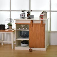 Livien Meja Dapur Celine Side Table Ivory