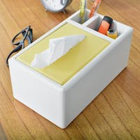Livien Kotak Tissue Convenience Tissue Box Yellow