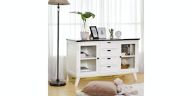 Livien Kabinet Kaca French Country