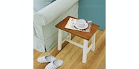 Livien Stool Kotak Dark Maple