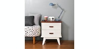 Livien Side Table Milano White