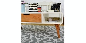 Livien Coffee Table Cubic Series