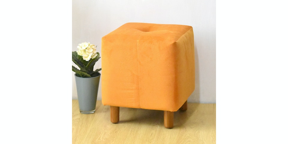Livien Stool Tubies Orange