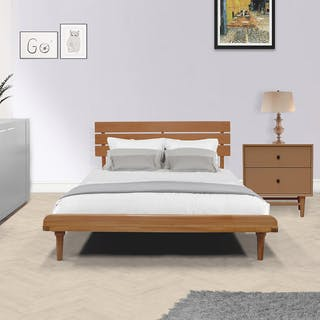Livien Tempat Tidur Bed Aqilla Series Brown Set Single