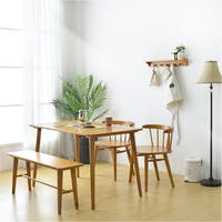 Livien Ribe Dining Table 1200 - 1 Bench - 2 Ribe Chair