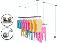 Liveo ALUMINIUM LIFTING CLOTHES HANGER LV-680