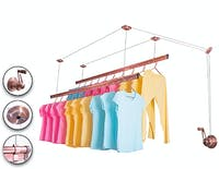 Liveo ALUMINIUM LIFTING CLOTHES HANGER  LV-688