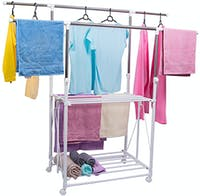 Liveo DOUBLE POLE CLOTHES HANGER   LV -728