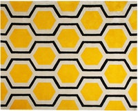Mamarai Honey Bright Yellow Karpet 200x150cm