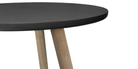 Meublemont Concrete Round Side Table