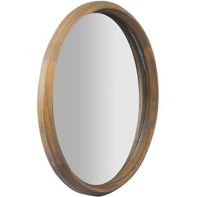 Meublemont Louis Round Mirror 55 - Antique Grey