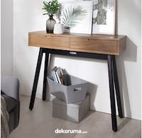 Meublemont Akita Console Table - Antique Grey