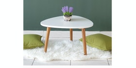 Meublemont Trixie Coffee Table - White/Natural