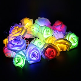 Lightcraft Indonesia Lampu Tumblr Rose Light Rainbow