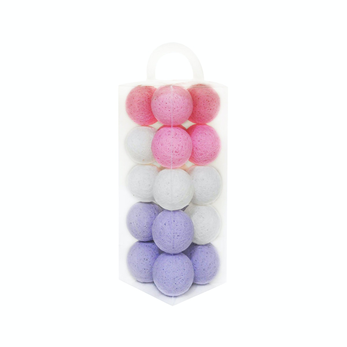 Lightcraft Indonesia Cotton Ball Light Pale Purple Pink