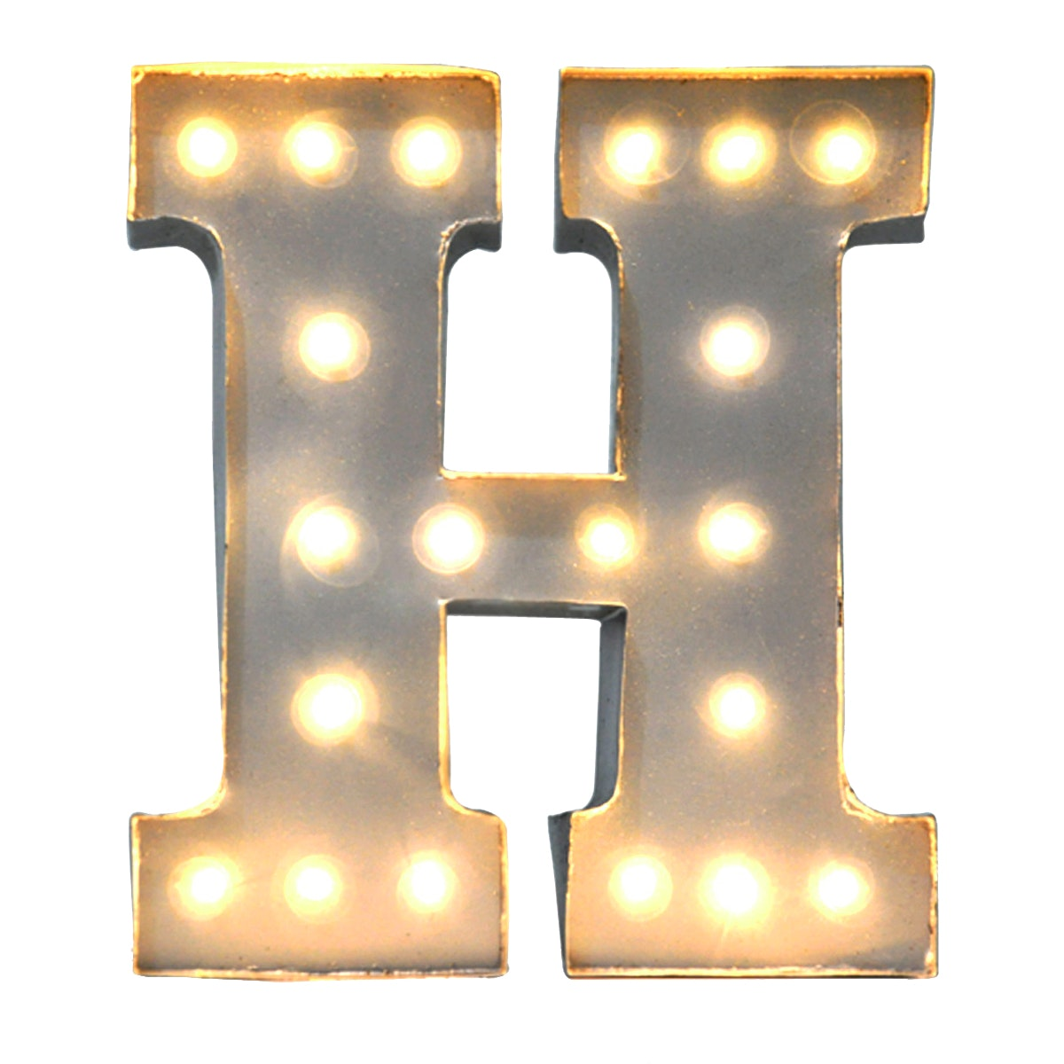 Lightcraft Indonesia Marquee Letter H