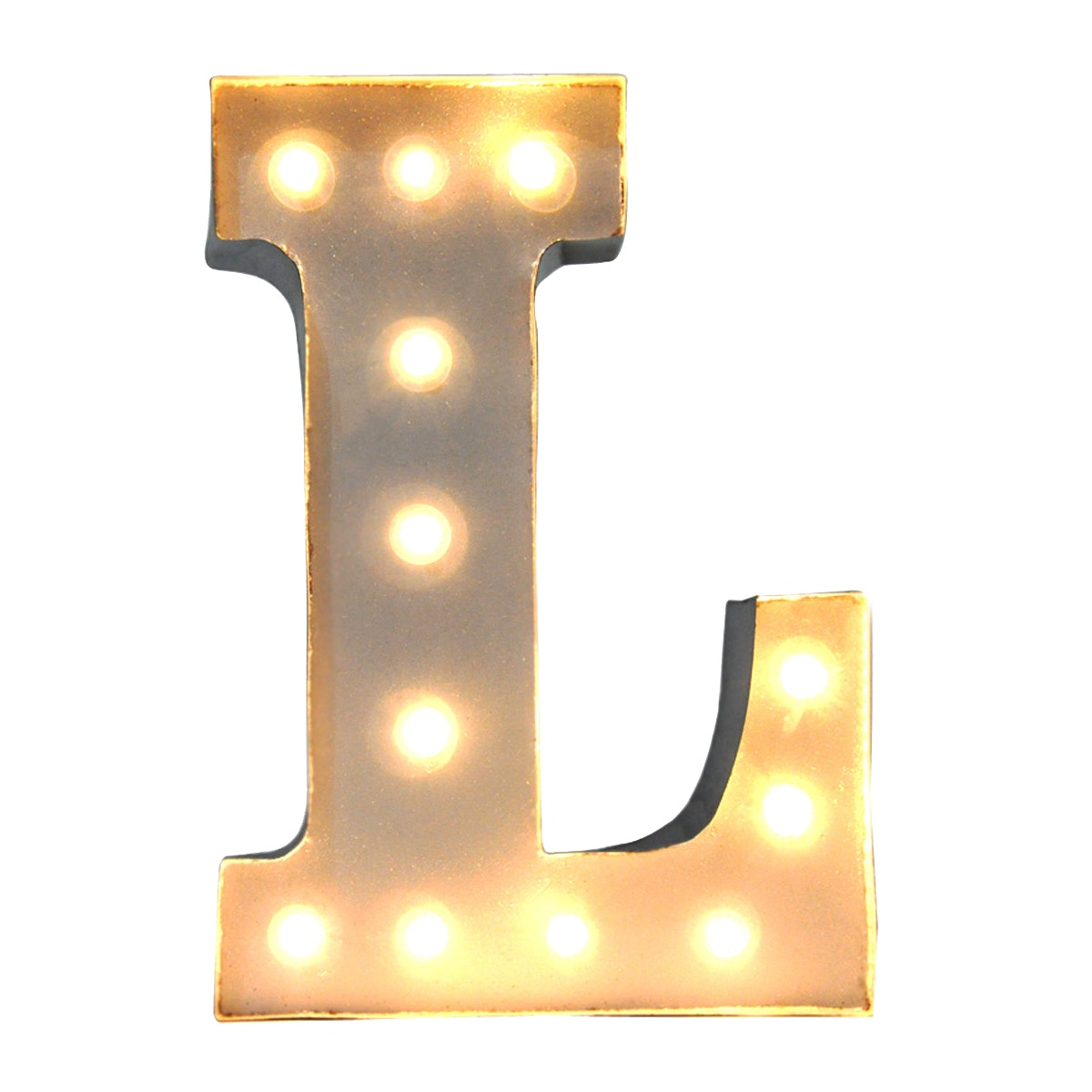 Lightcraft Indonesia Marquee Letter L