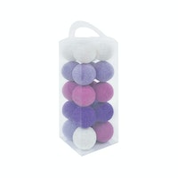 Lightcraft Indonesia Cotton Ball Light Purple Tone