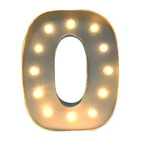 Lightcraft Indonesia Marquee Letter O