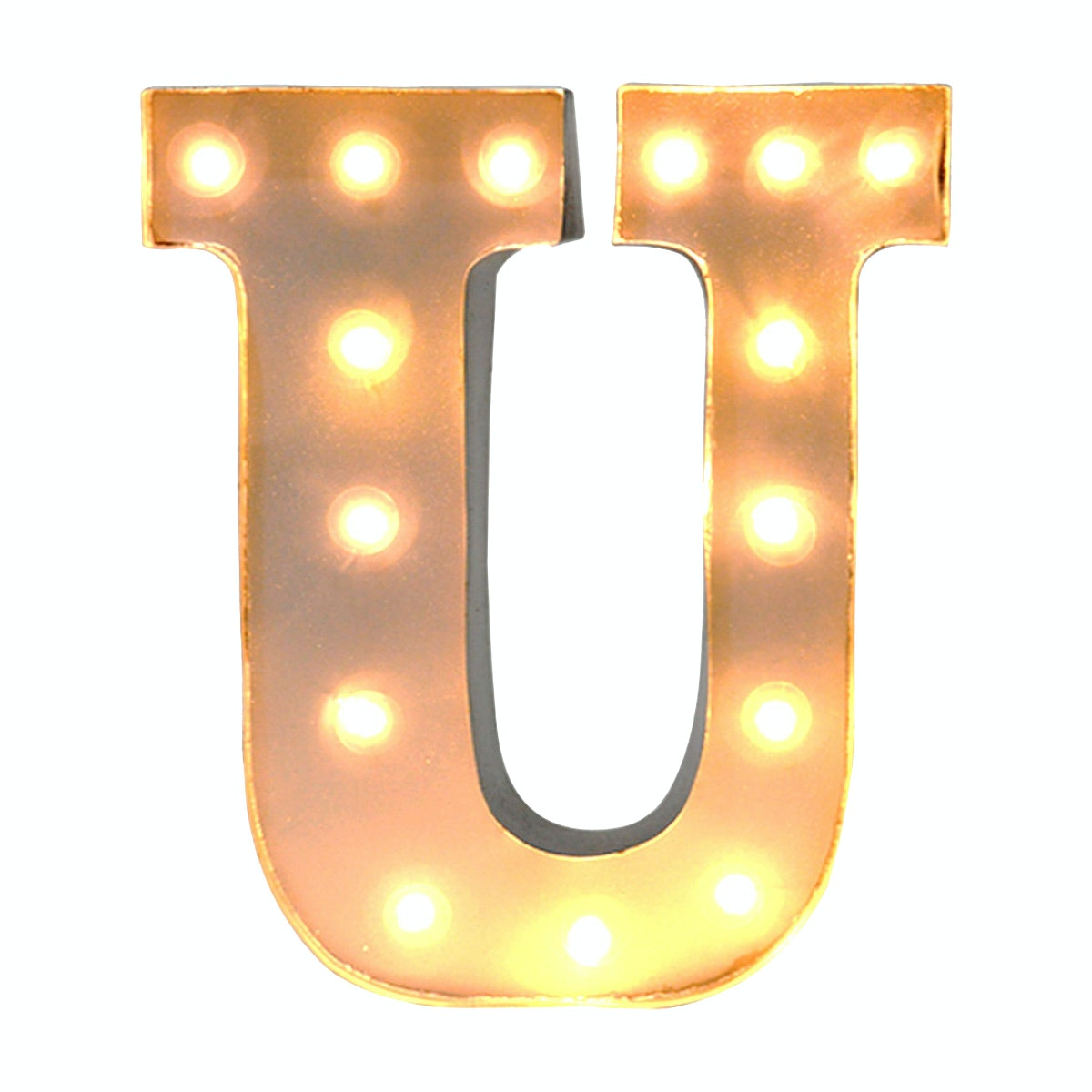 Lightcraft Indonesia Marquee Letter U