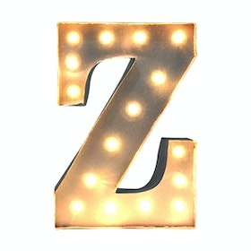 Lightcraft Indonesia Marquee Letter Z
