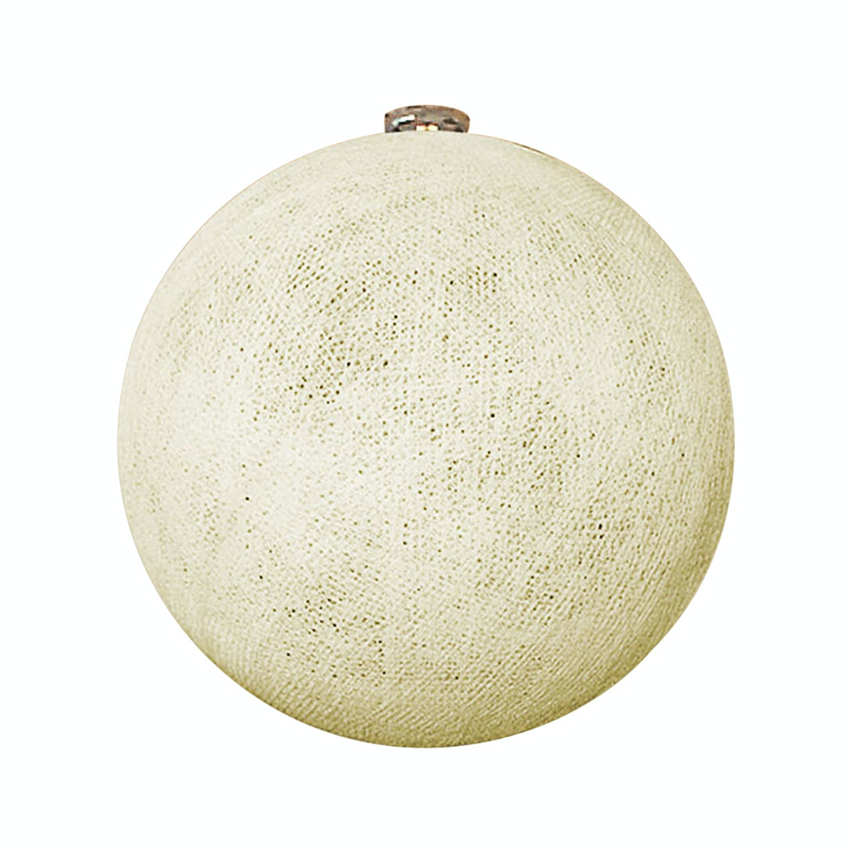 "Lightcraft Indonesia Big Cotton Ball 10"" Ivory"