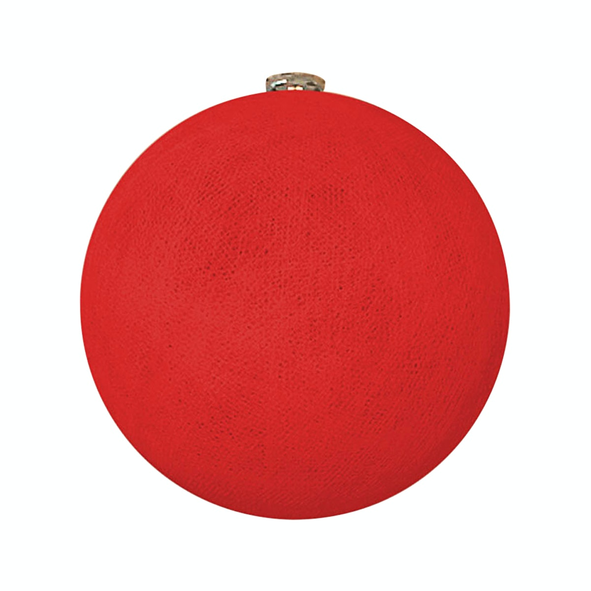"Lightcraft Indonesia Big Cotton Ball 10"" Red"