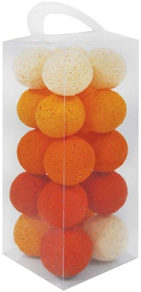 Lightcraft Indonesia Cotton Ball Light Orange Tone
